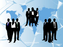Business team. Vector illustration of business people Royalty Free Stock Photography