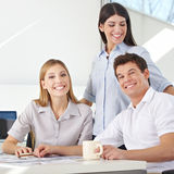 Business team in advertising agency Stock Photos