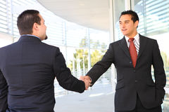 Business Team Agreement Royalty Free Stock Photography