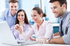 Free Business Team At The Office Royalty Free Stock Photos - 31520778