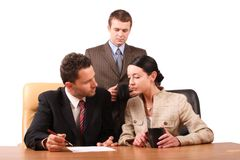 Free Business Team At Work Stock Photography - 372432