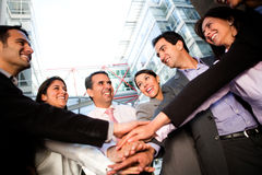 Business team bonding Royalty Free Stock Photos