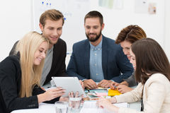 Business team brainstorming Royalty Free Stock Photography