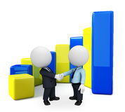 Business team with business graph Stock Image