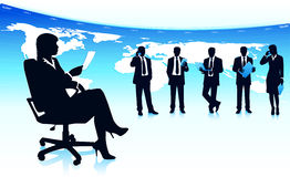 Successful business teamwork Royalty Free Stock Photos