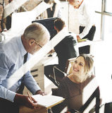 Business Team Busy Working Talking Concept Royalty Free Stock Images