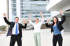Business Team Celebrating Royalty Free Stock Photography
