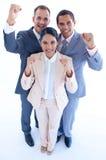 Business team celebrating a success Stock Photo