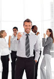 Business Team Celebrating Success Royalty Free Stock Images