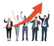 Business Team Celebrating Royalty Free Stock Images