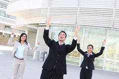Business Team Celebration Stock Photography