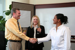 Business Team Celebration Royalty Free Stock Image
