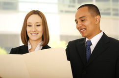 Business Team Check Folder royalty free stock image