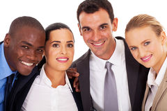 Business team closeup Stock Images