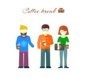 Business Team on Coffee Break Stock Photos
