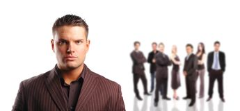 Business team concept Royalty Free Stock Photography