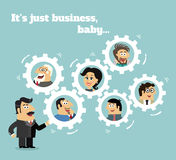 Business team concept Royalty Free Stock Photo