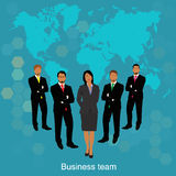 Business team concept Royalty Free Stock Photos