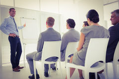 Business team during conference Royalty Free Stock Images