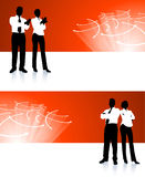 Business team corporate banner backgrounds Stock Image