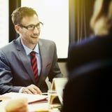 Business Team Corporate Organization Meeting Concept Stock Photo