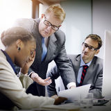 Business Team Corporate Organization Meeting Concept.  Royalty Free Stock Image