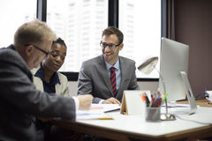 Business Team Corporate Organization Meeting Concept Stock Images