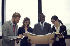 Business Team Corporate Organization Working Concept Royalty Free Stock Photo