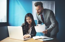 Business Team Corporate Organization Working Concept stock photography