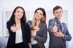 Business Team Corporate Organization Working Concept.  Royalty Free Stock Photos