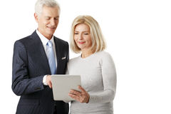 Business team with digital tablet Royalty Free Stock Photography
