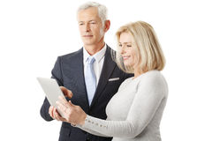 Business team with digital tablet Royalty Free Stock Image