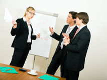 Business Team in disagreement Royalty Free Stock Photography