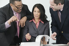 Business team discussing Royalty Free Stock Images