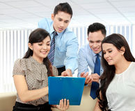 Business team discussing Stock Photo