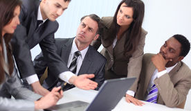 Business team discussing new ideas Royalty Free Stock Image