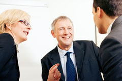 Business team discussing a project Royalty Free Stock Photography