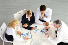 Business team discussion Stock Photo