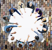 Business Team Discussion Meeting Analysing Concept.  Royalty Free Stock Photography