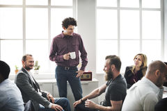 Business Team Discussion Meeting Corporate Concept.  Royalty Free Stock Photography
