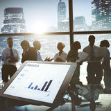 Business Team Discussion Talking Meeting Concept Royalty Free Stock Photos