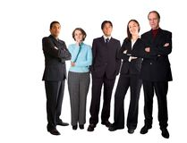 Business team - diverse Stock Photography