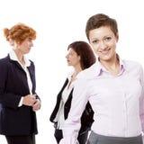 Business team diversity happy isolated Stock Photos