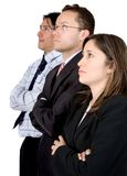 Business team expectations Royalty Free Stock Photo