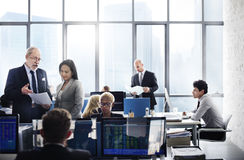 Business Team Finance Stock Exchange Busy Cocnept Stock Photos