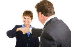 Business Team - Fist Bump Stock Photo