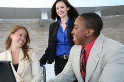 Business Team (Focus on Man) Royalty Free Stock Photography