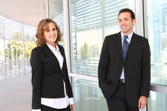 Business Team (Focus on Man) Royalty Free Stock Images