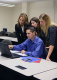 Business Team (Focus On Man) Stock Image
