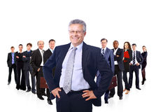 Business team formed Royalty Free Stock Photos